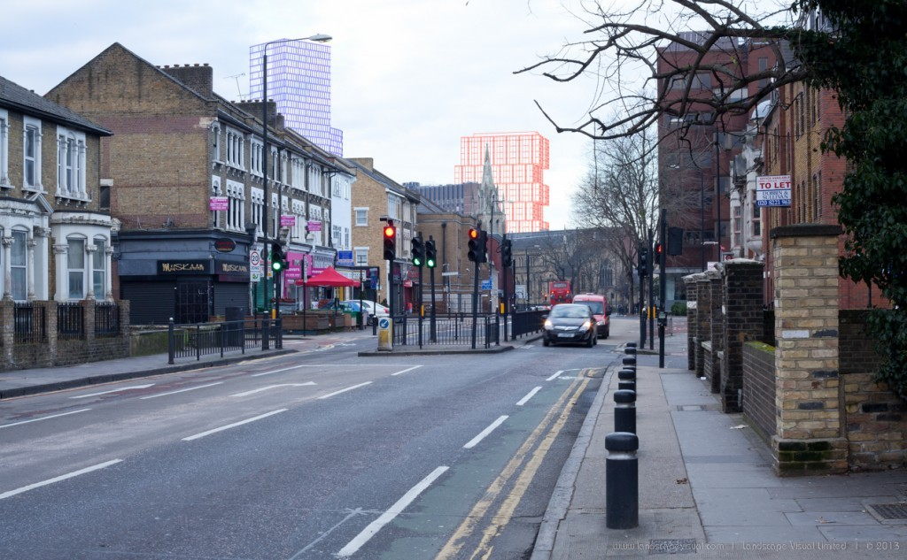 Townscape Assessment and Verified Views, Stratford Centre, London