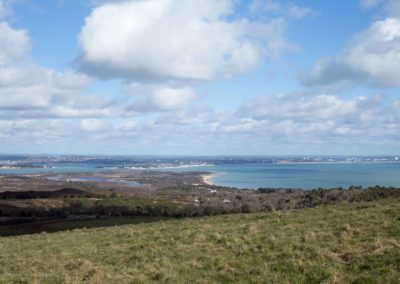 Poole Harbour from Isle of Purbeck, Dorset AONB