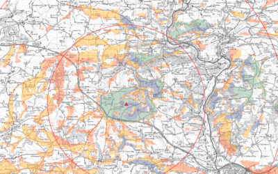 Landscape Visual LVIA consultants ZTV map