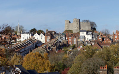 Lewes roofscape